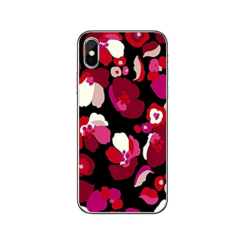 Funda de silicona para Huawei P20 P30 P40 Pro P10 P9 Lite Y5 Y6 Y7 Y9 P Smart Plus 2018 2019-Rosa-Flor-F-03-Para P9 Lite 2017