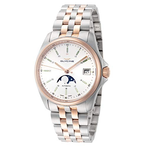 Glycine Men's 3958.313.MB Combat Classic Moonphase...