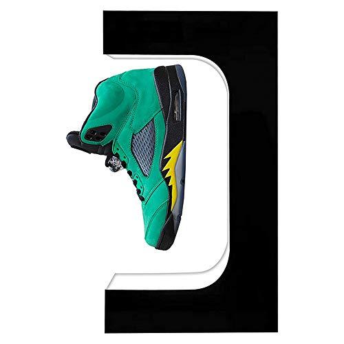 LFTS Pantalla de Zapato de levitación Soporte de Zapatillas flotantes/Soporte de Zapatos con Pantalla de Zapatillas de Deporte Flotante LED para Regalos Exposición de Publicidad