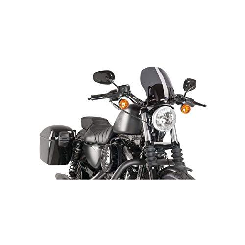 Puig New Generation Windshield Harley Sportster C/Dark Smoke (Custom 04-17 / Iron 09-17 / 883R 02-17 / NIGHTSTER 08-17 / Superlow 11-17)