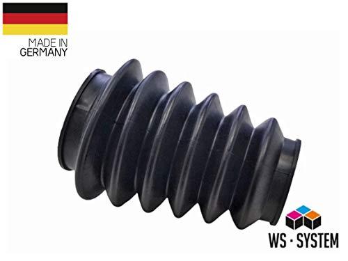 2 Stück Universal Faltenbalg Manschette Anhänger Balg L 70mm-170m Ø 60mm/75mm