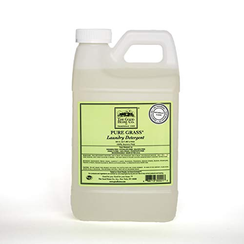 The Good Home Natural Laundry Detergent Refill, Pure Grass, 64 Ounce