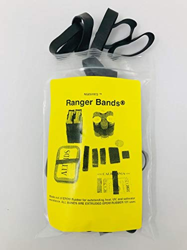 Ranger Bands 30 Count Made from EPDM Rubber for Survival and Strapping Gear Made in The USA NGE61972