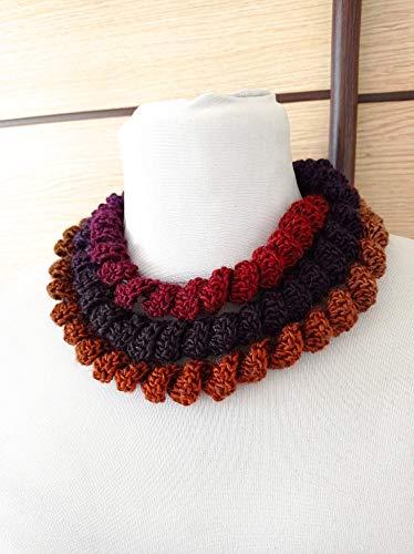 Collana in Lana'Riccia' Handmade