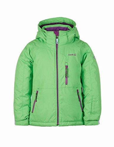 KAMIK Winterjacke Skijacke ARIA SOLID atmungsaktiv 80 dm Wassersäule Gr.92-164 grün 116