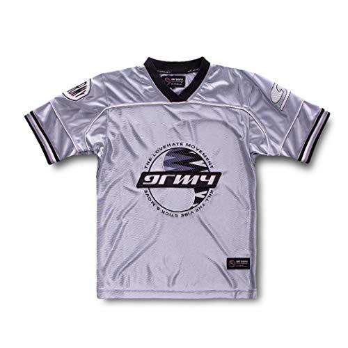 GRIMEY Camiseta Football Acknowledge SS20 Silver-S