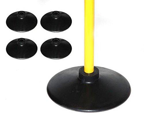 Boje Sport Set de 4 Bases para Picas de Caucho