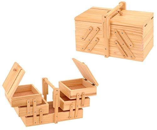 Spetebo - Costurero de madera plegable
