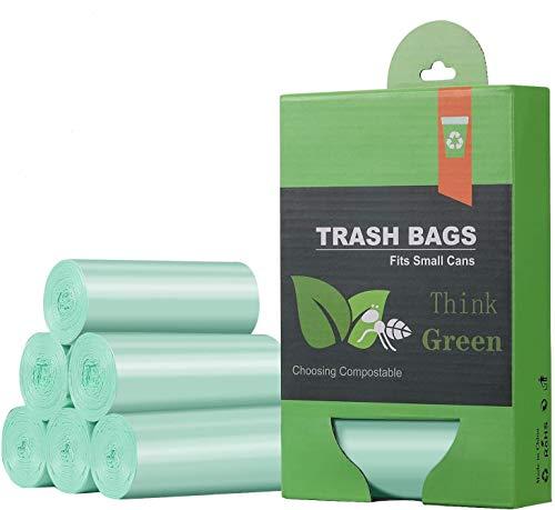 IceFrog Müllbeutel für Kompostbehälter 4.5 Liter 5 Rollen 125 Stück Küchen Lebensmittel Müllsäcke 100{a22a152ccf02eda84f8e367f980c45f0d3c6d1c51886e17b844755cf9e5aa6f2} biologischer und abbaubarer Beutel mit Zertifizierung …