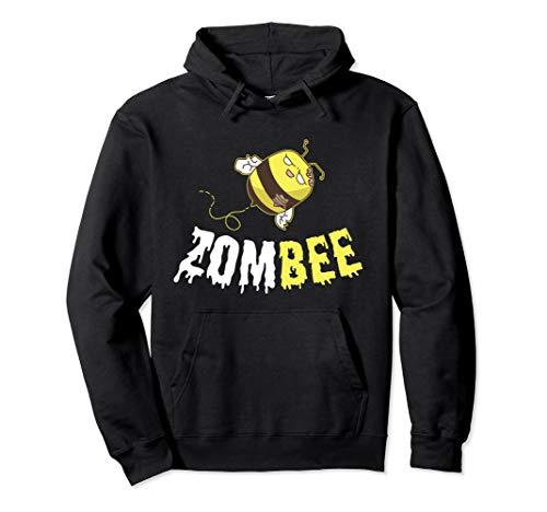 Zombee Zombie Boo Bee Funny Halloween Costume For Beekeper Pullover Hoodie