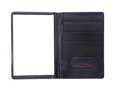 JYS Waterproof Travel Passport Cover Protector ID Card PVC Pocket Holder Pouchs