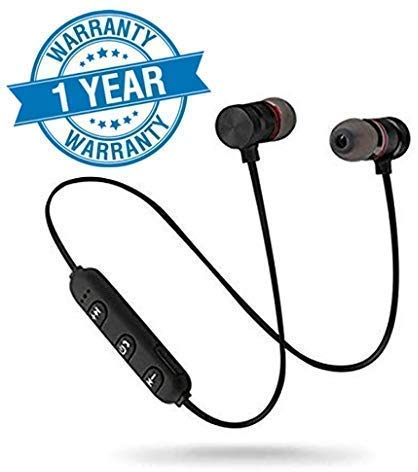 Lowfe Magnetic Sports Bluetooth Wireless Earphone with Immersive Stereo Sound and Hands Free Mic for Bluetooth Headset Compatible with All...