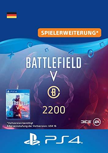 Battlefield V - Battlefield-Währung 2.200 - PS4 Download Code - deutsches Konto DLC | PS4 Download Code - deutsches Konto