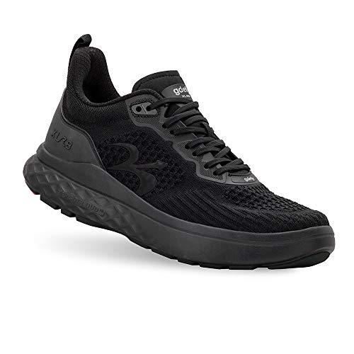 Gravity Defyer Men's G-Defy XLR8 Running Shoes 11 XW US - VersoCloud Multi-Density Shock Absorbing Performance Long Distance Running Diabetes Shoes Black