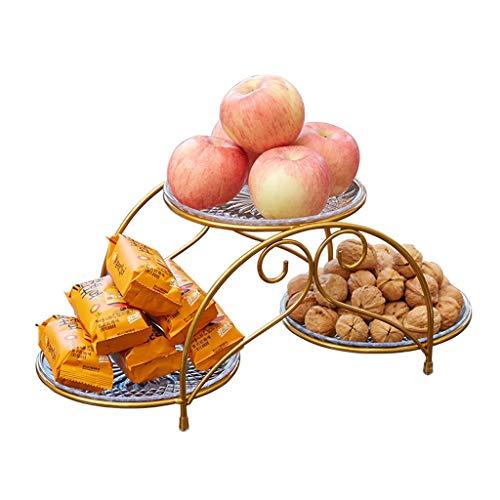 jinrun Postre Stand Placa de la Fruta Creativa Inicio Multi-Capa de la Torta Europea plástico del Soporte de exhibición del Postre Bandejas para Tartas