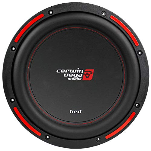 in budget affordable Cerwin Vega HED Mobile 1200 W MAX 12 inch DVC 4 ohm / 250 W RMS