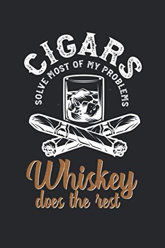 Meine perfekte Zigarre: Logbuch um deine Zigarren zu bewerten ♦ Dokumentiere sämtliche Aromen, Optik, Geschmäcker ♦ Im handlichen 6x9 Format für alle ... ♦ Motiv: Cigars & Whiskey problems