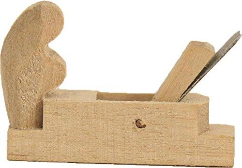 Miniatur Modell Zubehör, Hobel Länge ca. 2,6cm für 9-12cm Figuren