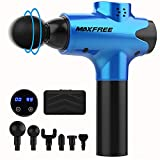 Massage Gun, Massage Gun for Athletes Deep Tissue Massage Device Muscle Massager Quiet 20 Speed Settings, Full-Body Relief for Physiotherapists with Carrying Case