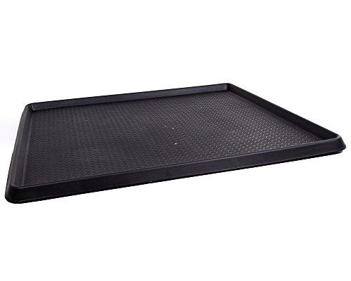 Ondis24 Ablage für Schmutz Schuhablage Kofferraumwanne mit hohem Rand zum Schutz vor auslaufenden Flüssigkeiten ca. 100 x 90 x 3 cm