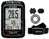 Bryton Rider 410T GPS Ciclismo, Negro, 2.3'