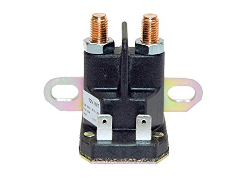 ISE Replacement Starter Solenoid for John Deere, Replaces Part Numbers: AM130365, AM132990, AM133094, AM138068, AM138497, AUC10907, GY22476