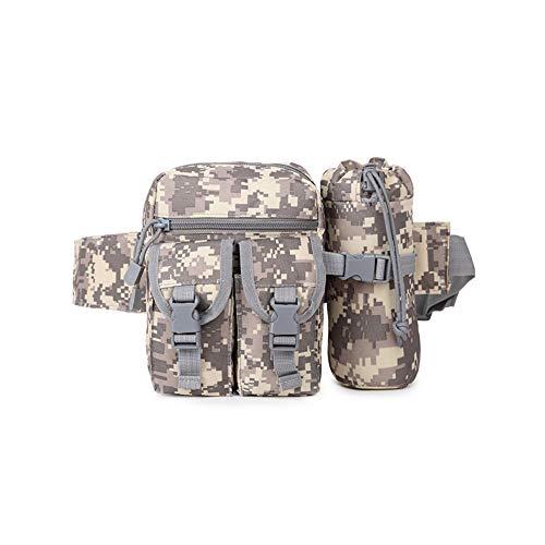 Tragbarer Tactical Kettle Hüfttasche Praktische Flaschenhalter Hüfttasche Multifunktions-Militär Kettle Taillen-Beutel für im Freien Klimaanlage-Tarnung