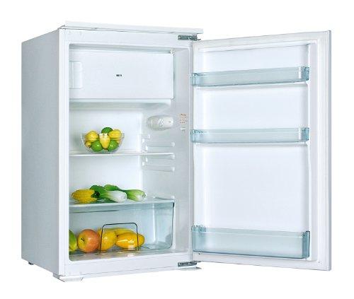 PKM KS120.4EB Einbaukühlschrank mit Gefrierfach / F / 88.87 cm Höhe / 223 kWh/Jahr / 105 L Kühlteil / 15 L Gefrierteil [Energieklasse F]