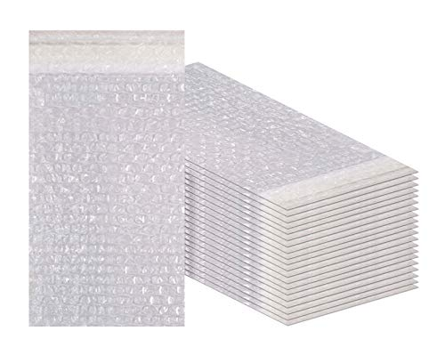 Amiff Luftpolsterbeutel, selbstklebend, für Versand, Verpackung, Lagerung und Umzug 4