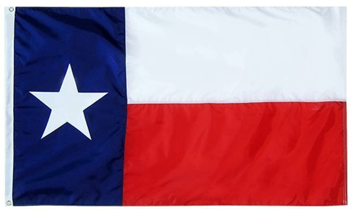 3x5 FT Double Sided TX Texas Flag Best Quality Cotton Flag Premium Grade 100% Satisfaction Guaranteed Windstrong? Made in the USA
