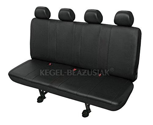 ZentimeX Z736995 Sitzbezüge Viererbank Kunstleder schwarz