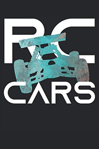 RC Cars - RC Auto Buggy Modellauto Retro Geschenk Notizbuch (Taschenbuch DIN A 5 Format Liniert): Buggy RC-Car Notizbuch, Notizheft, Schreibheft, ... und Fans von ferngesteuerten Modellautos.