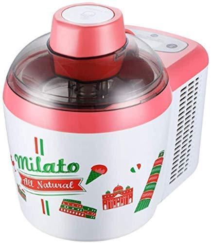 Glassmakare med inbyggd frys Automatisk glassmaskin med måttskedgrävare silikonspatel och måttkopp 600ML