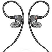 FiiO FA1 Over-The-Ear-Kopfhörer/Ohrhörer, abnehmbares Kabel, HiFi, Single Balanced Armature Driver Kopfhörer für iOS und Android, Computer, PC, Tablet