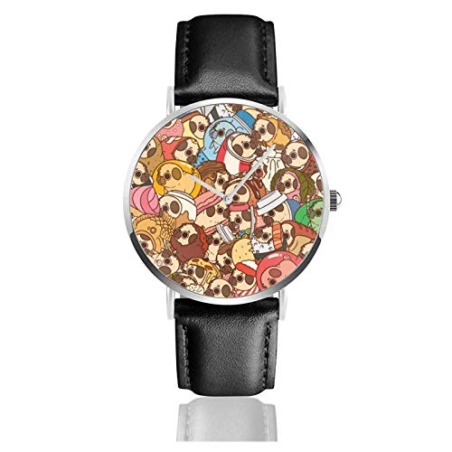 Reloj de Pulsera Ancla Barco Náutico Mar Durable PU Correa de Cuero Relojes de Negocios de Cuarzo Reloj de Pulsera Informal Unisex