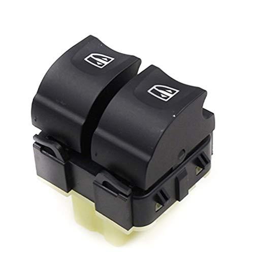 MNBHD Interruptor de Control de Ventana En Forma for el Renault Clio 4 IV Ventana Delantera Derecha eléctrico Doble Interruptor de botón Accesorios del Coche 254118044R