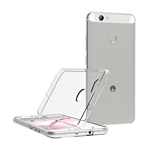 AICEK Huawei Nova Hülle, Transparent Silikon Schutzhülle für Huawei Nova 5.0 Zoll Case Ultra Crystal Clear Durchsichtige TPU Bumper Huawei Nova Handyhülle - 4