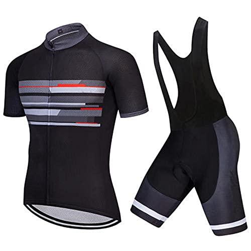 HXTSWGS Ciclismo Conjunto de Ropa para Ciclismo,Summer Cycling Wear Mountain Bike Clothes Bicycle Clothing MTB Bike Clothing-A07_M