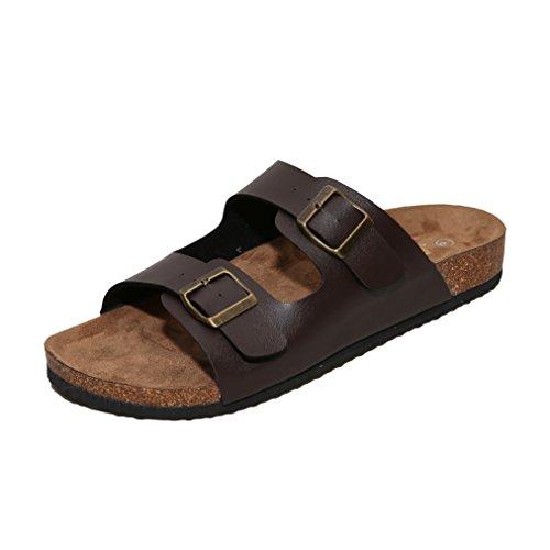 WTW Men's Sandals (11 D(M) US, Brown)
