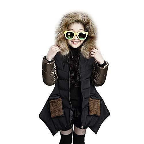 Luckyee Winterjacke für Mädchen,4-10 Jahre Kid Baby Mädchen Winter Baumwolle...