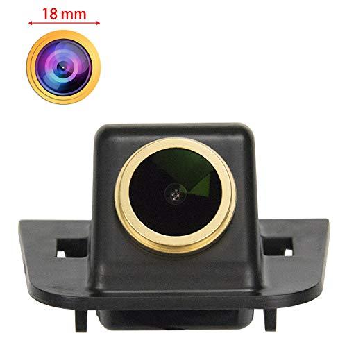HD 1280 * 720p Goldene Kamera Rückfahrkamera Farbkamera Rueckfahrkamera Nachtsicht Wasserdicht Hilfslinien für Toyota Prius XW30 MK3 2009 2010 2011 2012 2013 2014 2015