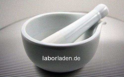 Porzellanmörser fürs Labor (Ø 12cm) / (Mörser, Chemikalien) * TOPP Qualität+NEU!