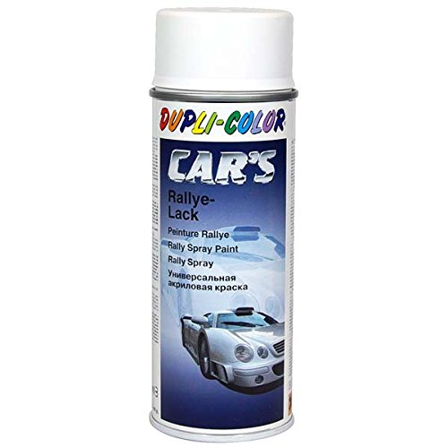 Dupli-Color 652233 Cars Lackspray Seiden Matt, 400 ml, Weiss