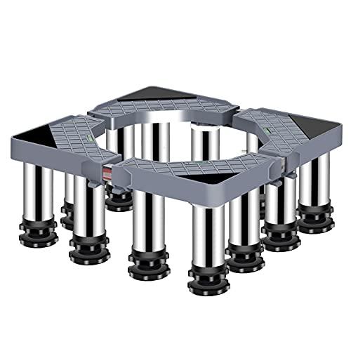 YYHJ Soporte Secadora sobre Lavadora,Base Móvil Ajustable De 40~65cm,Elevador Estabilizador Plataforma,for Electrodomésticos Frigorífico (Size : Height 19-22CM)