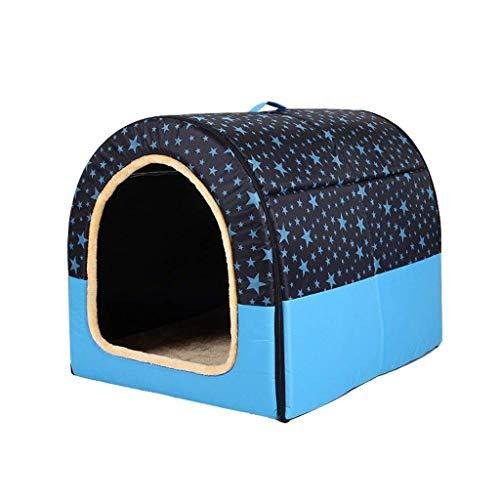 WJXBoos ? Pet House Dog House, Tipo Arco Grande Cama Plegable para Perros Cama Plegable para Mascotas Almohada Suave para Gatos Adecuado para Todas Las Estaciones (Color: D, tamaño: XXXL)