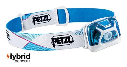 Petzl Tikka Torcia a Fascia Blu, Bianco LED, White, UNI