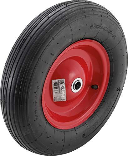 BGS Diy 80954 | Schubkarrenrad | Luftrad mit Schlauch | 400 mm
