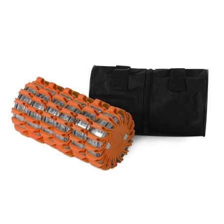 Powerflare LED Signallicht 6er Set orange inkl. Tasche