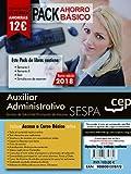 PACK AHORRO BASICO. Auxiliar Administrativo del Servicio de Salud del Principado de Asturias (SESPA). (Incluye Temarios Vol. I, II, Test y Simulacros)