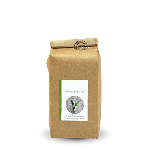 Grüner Blatt-Tee 250g aus zertifiziertem EM® Bio-Anbau aus Nepal / FTGFOP (Fine Tippy Golden Flowery Orange Pekoe)